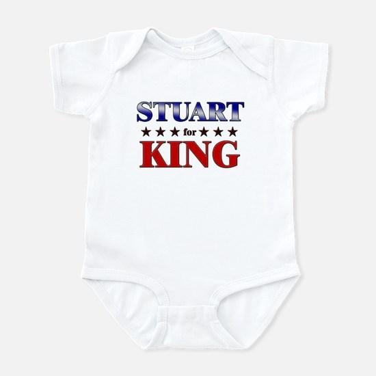 STUART for king Infant Bodysuit