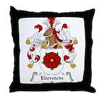 Eberstein Family Crest Throw Pillow