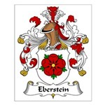 Eberstein Family Crest Small Poster