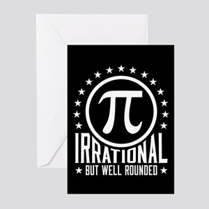 Irrational But Well Rounded Greeting Cards