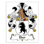 Eber Family Crest Small Poster