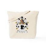 Ebenhauser Family Crest Tote Bag