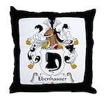 Ebenhauser Family Crest Throw Pillow