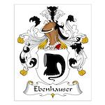 Ebenhauser Family Crest Small Poster