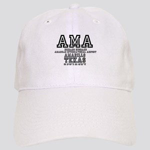TEXAS - AIRPORT CODES - AMA - RICK HUSBAND AMA Cap