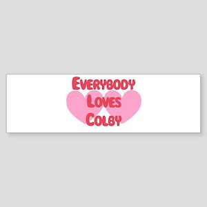 Everybody Loves Colby Bumper Sticker
