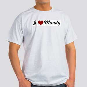 I love Mandy Light T-Shirt