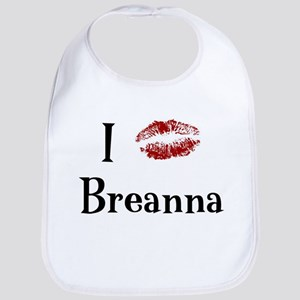 I Kissed Breanna Bib