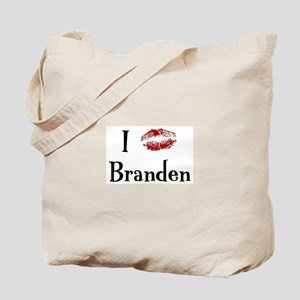 I Kissed Branden Tote Bag