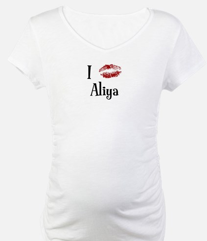 I Kissed Aliya Shirt