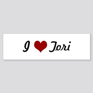 I love Tori Bumper Sticker