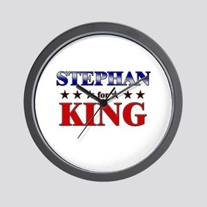STEPHAN for king Wall Clock