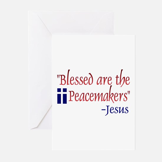 "Greeting Cards (Pk of 10) - ""Blessed Are the"