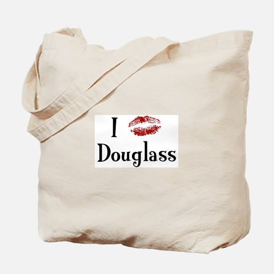 I Kissed Douglass Tote Bag