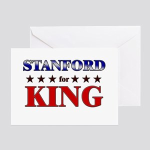 STANFORD for king Greeting Card