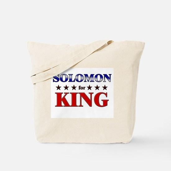 SOLOMON for king Tote Bag