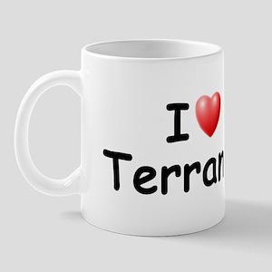 I Love Terrance (Black) Mug