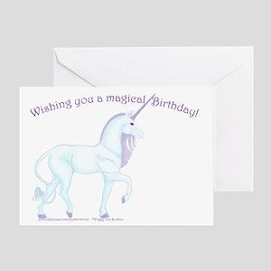 Magic Unicorn Birthday Card