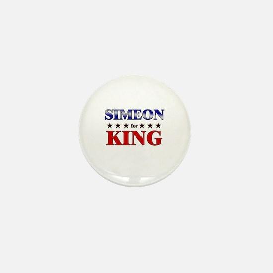 SIMEON for king Mini Button