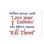 Postcards (Package of 8) - When Jesus said