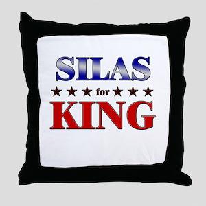 SILAS for king Throw Pillow