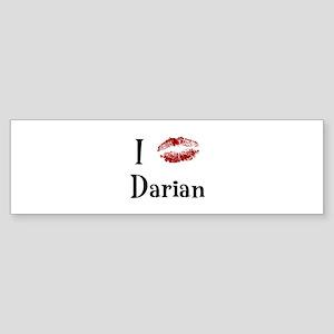 I Kissed Darian Bumper Sticker
