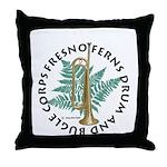 Official Ferns Throw Pillow