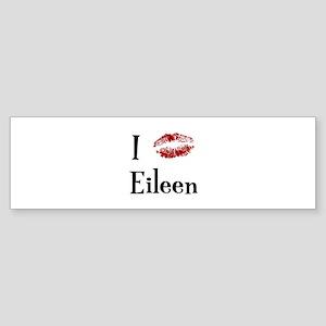I Kissed Eileen Bumper Sticker