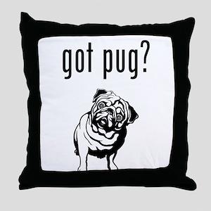 got pug? Throw Pillow
