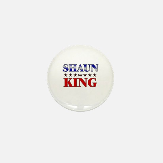 SHAUN for king Mini Button