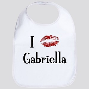 I Kissed Gabriella Bib