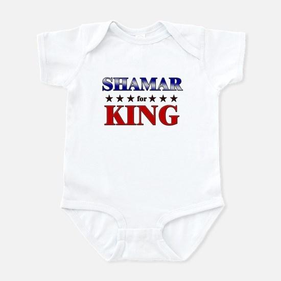 SHAMAR for king Infant Bodysuit
