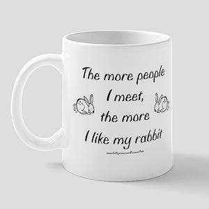 Like My Rabbit Mug