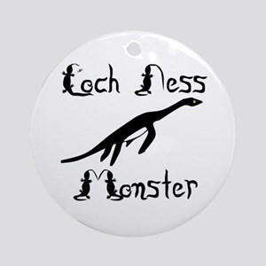 Loch Ness Monster Ornament (Round)