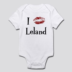 I Kissed Leland Infant Bodysuit
