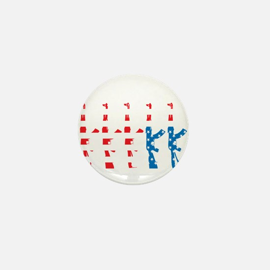 The Untied State of Amerika Mini Button