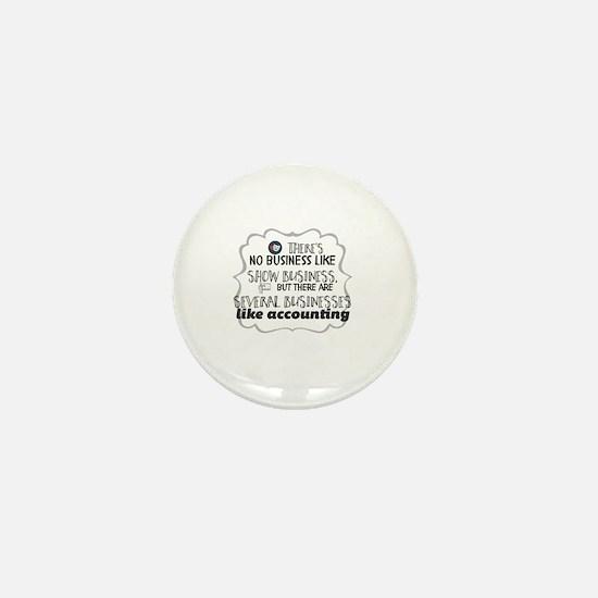 Funny Show business Mini Button