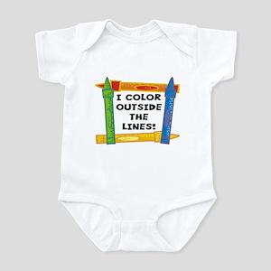 Color Outside The Lines Infant Bodysuit