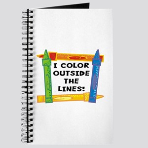 Color Outside The Lines Journal