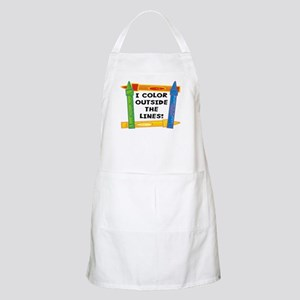 Color Outside The Lines BBQ Apron