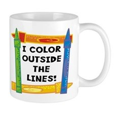 Color Outside The Lines Mug