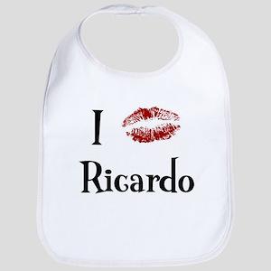 I Kissed Ricardo Bib