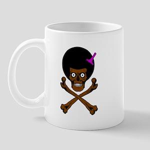 Afro Skull Mug