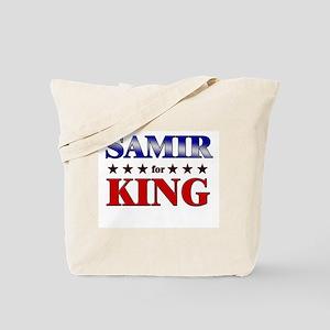 SAMIR for king Tote Bag