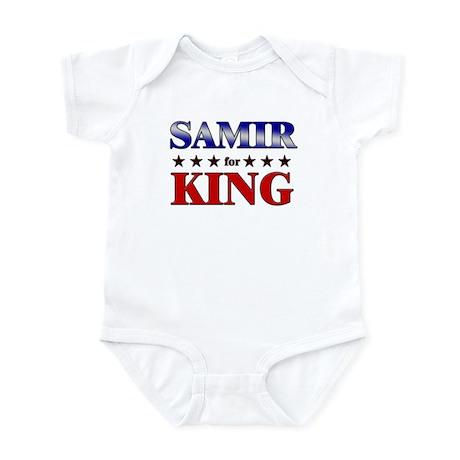 SAMIR for king Infant Bodysuit
