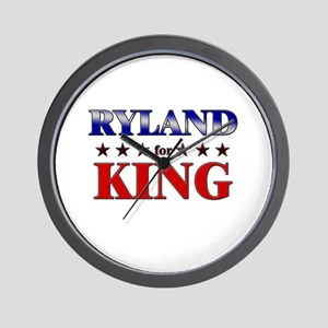RYLAND for king Wall Clock