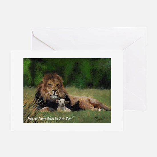 You Are Never Alone Greeting Cards