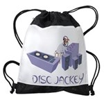 2-DISC JACKEY1 Drawstring Bag