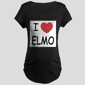 I heart elmo Maternity T-Shirt
