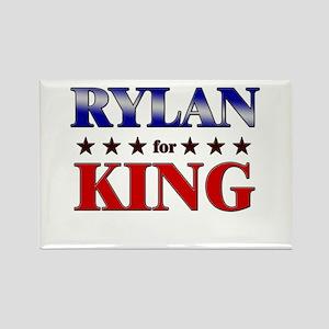 RYLAN for king Rectangle Magnet